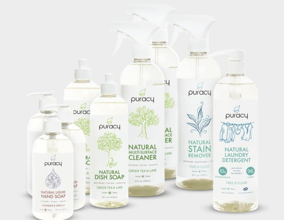 Try this set of 9 natural cleaning products for $60