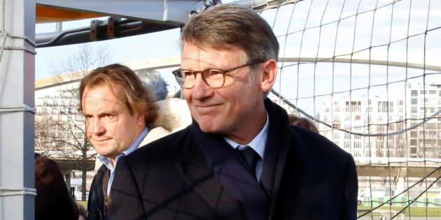 Vincent Peillon le 16 décembre à Paris. REUTERS/Jacky Naegelen