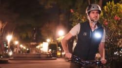 Este chaleco hará que dejes de tener (tanto) miedo de usar la bicicleta en la