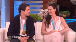 Ellen Grills Tessa Virtue And Scott Moir On Whether They're