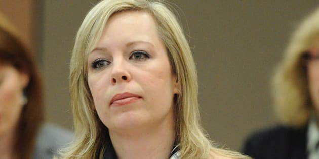 Denise Batters appears as a witness at a commons health committee on mental illness in Ottawa on March 8, 2012.