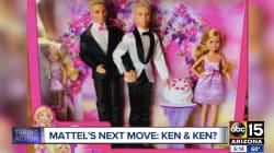 Noivos esperam convencer a Mattel a criar kit da Barbie de casamento