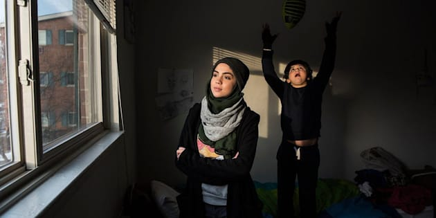 Fatin, 16, and her brother are Syrian refugees whose family fled in 2013, just a few months after their mother's sudden disappearance.
