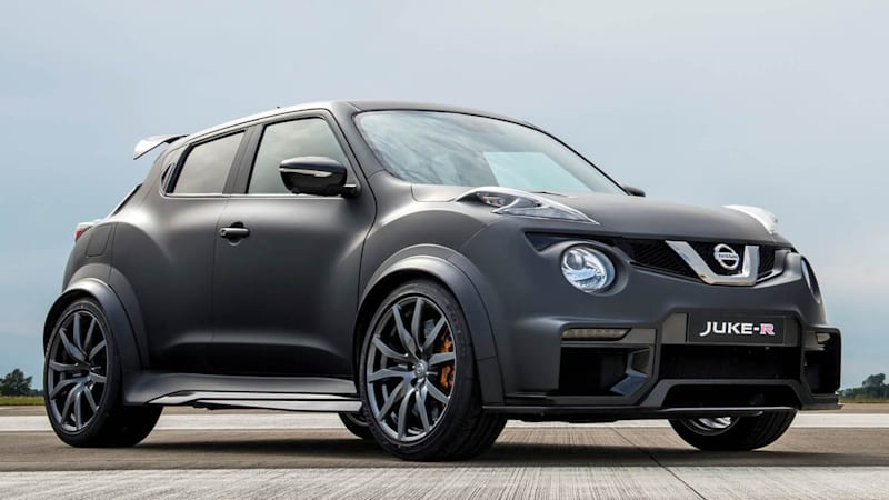 Nissan rolls out updated Juke-R 2.0 at Goodwood - Autoblog