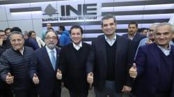 Formalizan PRI, PVEM y Nueva Alianza coaliciónMeade Ciudadano por