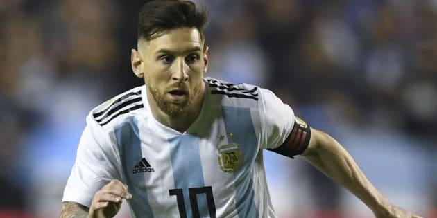 アルゼンチン代表のメッシ
