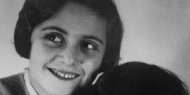 Sisters Margot Frank and Anne Frank, who both died in the Holocaust.