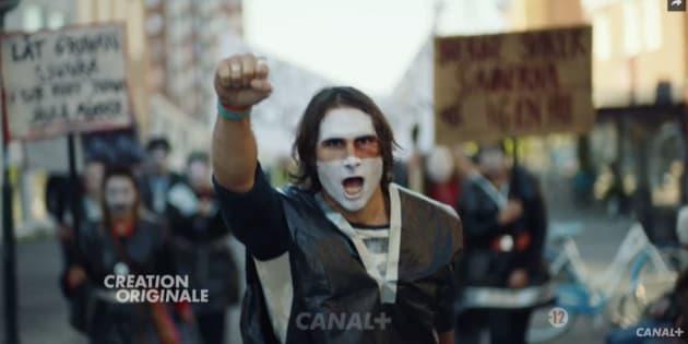 """Manifestation de Samis dans """"Jour Polaire"""", la série qui révèle une Leïla Bekhti intraitable."""