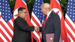 Trump n'avait pas de mots assez forts pour faire l'éloge de Kim Jong