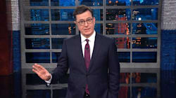 Stephen Colbert Issues A Rare Apology To Donald