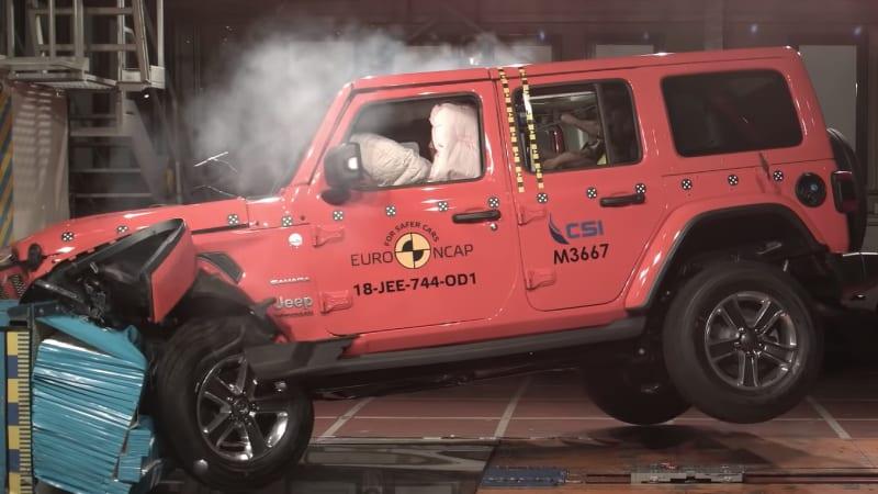 The Jeep Wrangler Scored 1 Star In Euro Ncap Crash Test