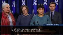 Deux ex-députées catalanes boudées par le premier ministre