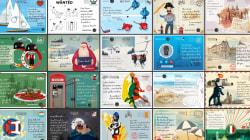 Europol crée des cartes postales pour retrouver les criminels les plus recherchés
