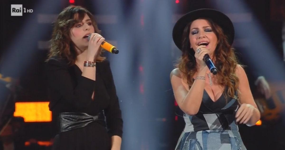Sanremo 2019: la reazione della Raffaele alla vista di Cristina D'Avena è quella che avremmo tutti
