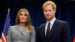 Le prince Harry et Melania Trump à Toronto pour lancer les Invictus