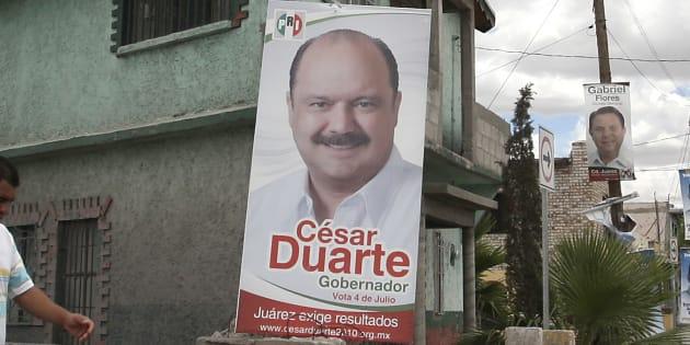 Presenta PGR ocho peticiones de extradición del ex gobernador César Duarte
