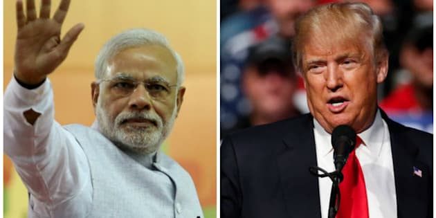 "The Trump administration said it is rolling out the ""red carpet"" for Modi."