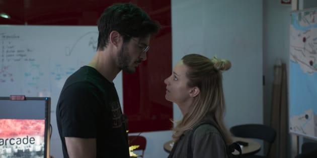 Éric Bruneau et Laurence Leboeuf dans la série «Le jeu»