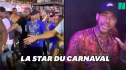 En convalescence au Brésil, Neymar s'amuse bien au carnaval de