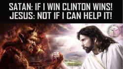 Satan, burqas... les pubs anti-Clinton surréalistes financées par la Russie sur