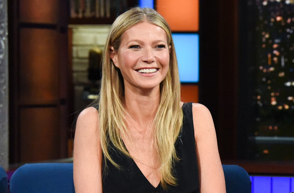 11e13a87 Gwyneth Paltrow has strong feelings about Tom Brady's peacoat - AOL ...
