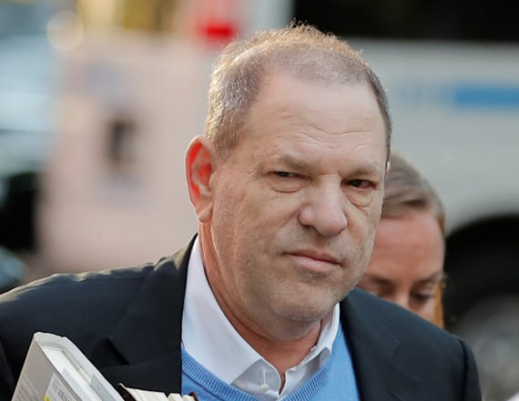 Weinstein charged with rape, sex abuse
