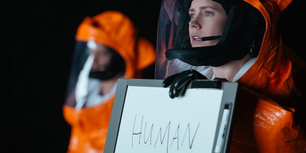 """Amy Adams dans le film """"Premier contact"""""""