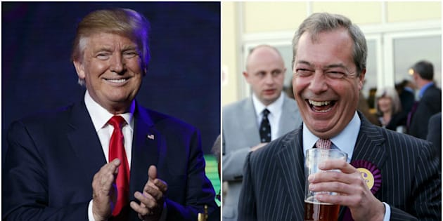 "Farage described Trump as a ""very loyal man"" on Tuesday morning"