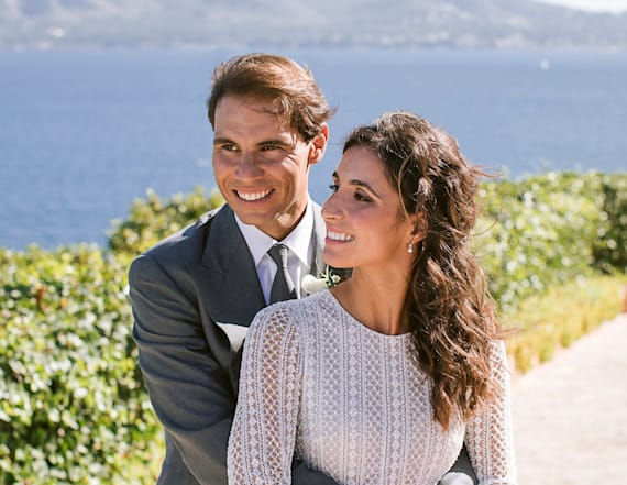 See pics from Rafael Nadal beautiful Spain wedding