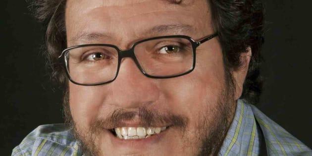 El escritor Santiago Gamboa