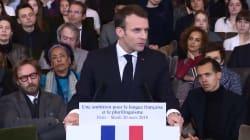 Francophonie: Macron veut doubler le nombre d'élèves dans les lycées français à