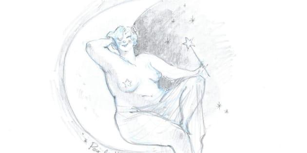 """La dessinatrice de """"Betty Boob"""" raconte son dessin exclusif réalisé pour Le HuffPost"""