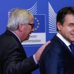 Da Juncker con il