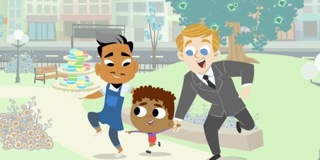 «16 Hudson» est le premier dessin animé destiné à des enfants d'âge préscolaire.