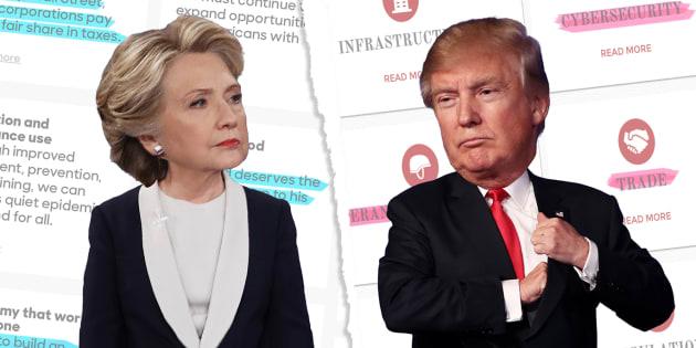 Que contient le programme des deux candidats ?