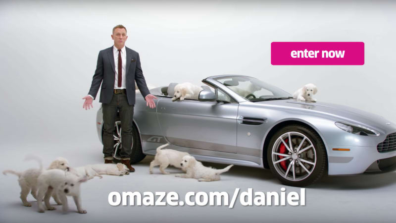 Win An Aston Martin Vantage Gt Roadster From Daniel Craig And A