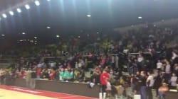 Le public de l'équipe de basket de Strasbourg est resté