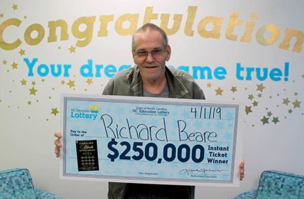 Man with stage 4 cancer wins lottery, plans to take wife on