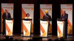 NDP Leadership Candidates Tread Carefully At Montreal