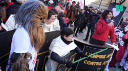Attac mobilise Dark Vador et Chewbacca contre
