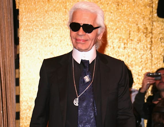 Karl Lagerfeld owned 1,000 of the same shirt