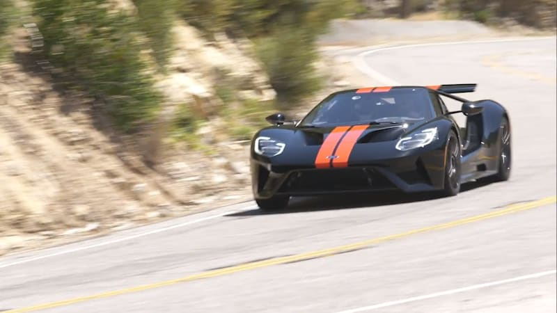 2018 Ford GT Video Review: Our first real-world drive of this future classic