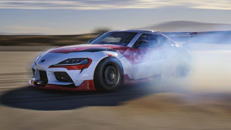 Toyota builds an autonomous drift Supra to develop advanced driver assistance systems