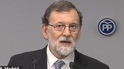 Rajoy anuncia que deja el liderazgo del PP y propone un congreso