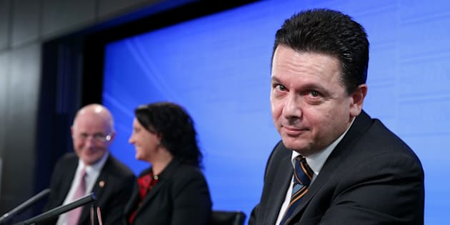 """Nick Xenophon wants Chris Pyne to """"chill."""""""