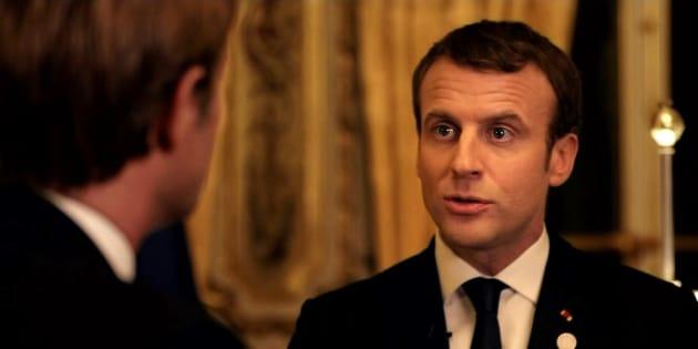 Sur France 2, Emmanuel Macron fait moins d'audience que lors de son passage sur TF1