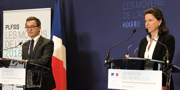 Gerald Darmanin                       En 2018 le déficit la Sécu sera le plus faible depuis 2001