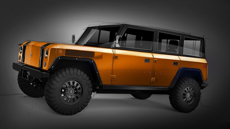 Earlier This Summer Bollinger Motors Unveiled Its B1 All Electric Sport Utility Truck The High End Off Roader Masterfully Combines Retro Looks And Rugged