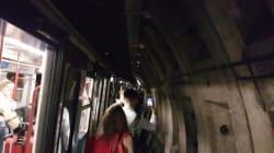 1600 persone bloccate sottoterra: il video dell'evacuazione nel tunnel della
