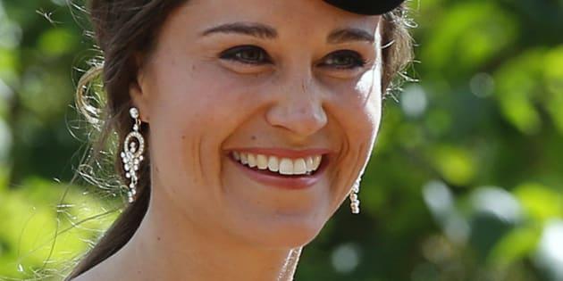 Pippa Middleton au mariage de Thomas van Straubenzee et Melissa Percy.